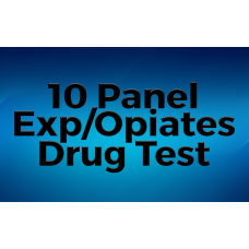 10 Panel Exp/Opiates Drug Test